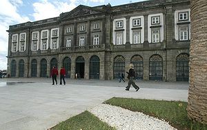 Higher education in Portugal - The Rector's office building of the University of Porto, the largest Portuguese university by number of students.