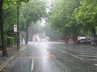 Upper Chorlton Road in the summer rain.JPG
