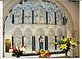 Upper part, altar piece for St Mary of the Angels Church in Worthing, Sussex. .jpg