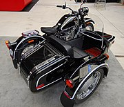 IMZ-Ural motorcycle with sidecar