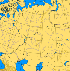 Map Showing Ural Mountains and Siberia |Where Are The Ural Mountains Located