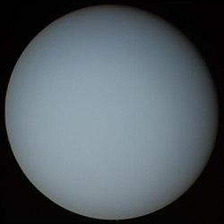 Uranüs (Voyager 2' den çekilmiş)