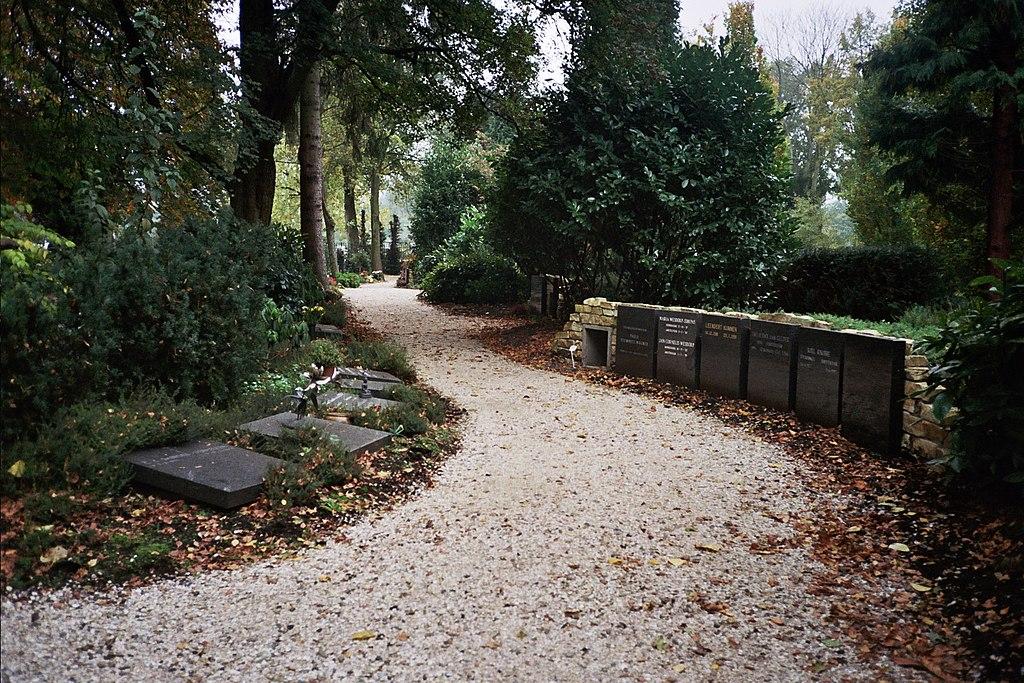 > Promenade dans le cimetière des illustres à Amsterdam - Photo d' Ilonamay