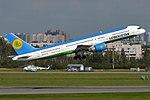 Uzbekistan Airways, UK75702, Boeing 757-23P (42688171760).jpg