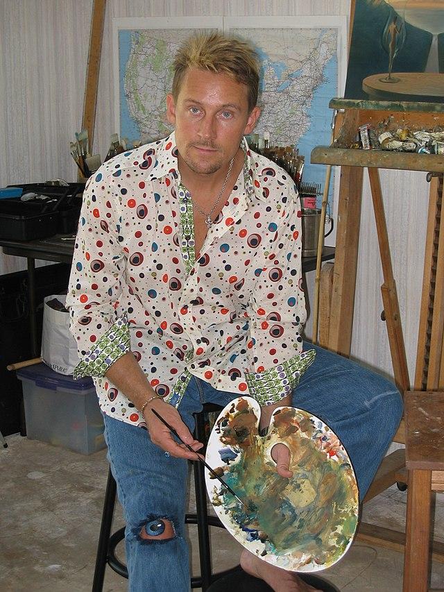 Vladimir Kush: russischer surrealistischer Maler und Bildhauer.  640px-VK_painting_To_Our_Time_Together