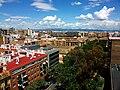 València des de les torres de Quart, al fons la serra Calderona.JPG