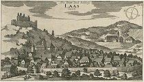 Valvasor - Mesto in grad Lož.jpg