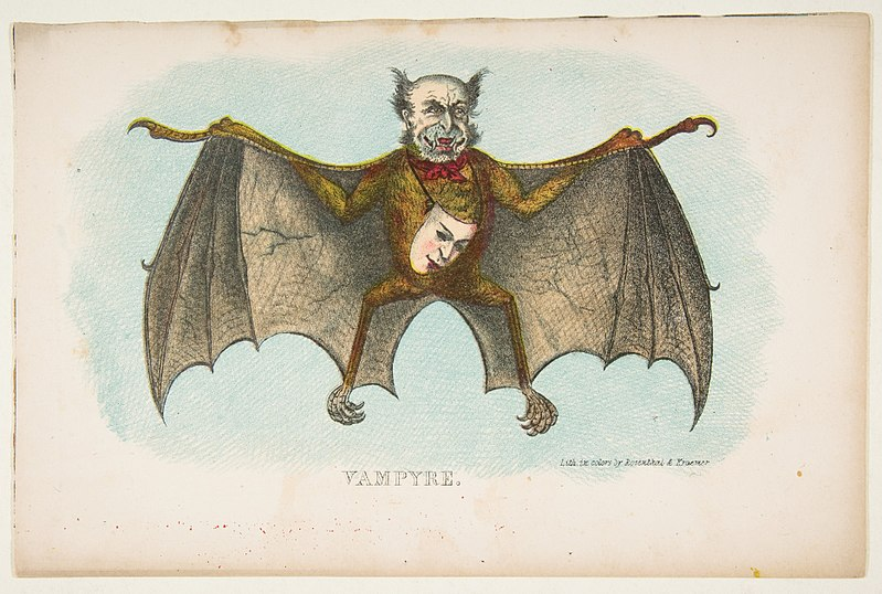 File:Vampyre, from The Comic Natural History of the Human Race MET DP813086.jpg
