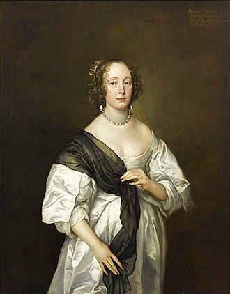 Hôtel d'Assézat - Anthony Van Dyck, Portrait of Lady Dorothy Dacre