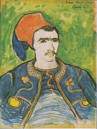 The Zouave - Image: Van Gogh Der Zuave (Halbfigur)1