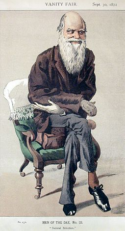 Caricature of Darwin from 1871 Vanity Fair VanityFair-Darwin2.jpg