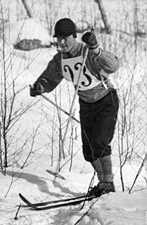 Veli Saarinen Finnish cross-country skier