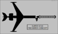 Vickers Super VC.10 freighter concept top-view silhouette.png