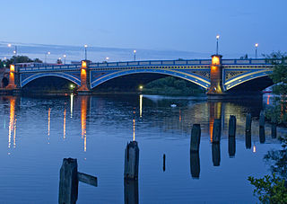 Victoria Bridge (Stockton-on-Tees) Road bridge over the River Tees in Northern England