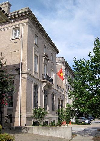 Lion Building - Vietnam Ambassador's Residence