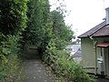 View back down the steep path from The Rising Sun - geograph.org.uk - 939737.jpg