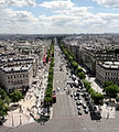 View from Arc de Triomphe 30 2012-07-02.jpg