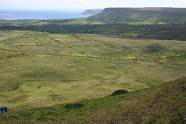 View from Tievebulliagh - geograph.org.uk - 472790