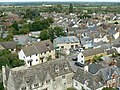 View north-east from St Sampson's tower, Cricklade - geograph.org.uk - 1476449.jpg