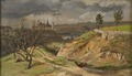 View of Meissen.Study (Johan Christian Dahl) - Nationalmuseum - 19978.tif