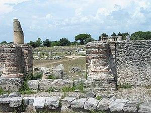 Paestum overview.