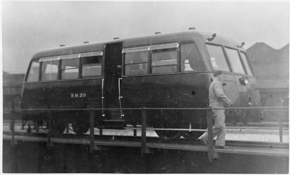 Px View Of Rail Motor No R M C Atlib