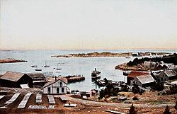 View of the harbor c. 1908