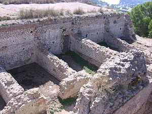 The remains of Villa Jovis.