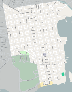 Street map of Villa del Cerro