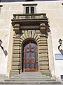 Villa medicea di castello, ext., portale.JPG