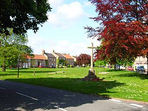 Catterick, North Yorkshire - Image: Village Green Catterick Village(Oliver Dixon)May 2006
