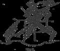 Villard de Honnecourt Figure equestre.png