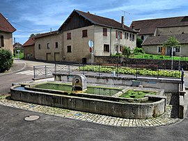 The water trough in Villers-Buzon