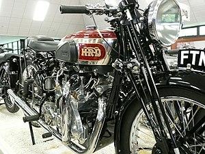 Vincent Motorcycles - Vincent Series 'A' Rapide
