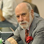 Vint Cerf was elected as the president of the Association for Computing Machinery in May 2012, and in August 2013 he joined the Council on CyberSecurity's Board of Advisors..
