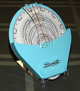 Vintage Biomate Handheld Biorhythm Calculator, Certified by the Japan Biorhythm Association, Circa 1970s (11574465133)