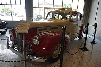 Pearl Harbor (film) - A 1940 LaSalle taxi featured in Pearl Harbor
