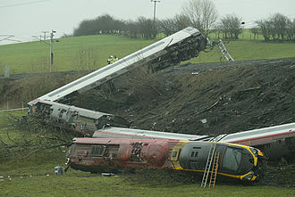 Grayrigg - The Grayrigg derailment was a rail accident in 2007, in which a passenger was fatally injured.