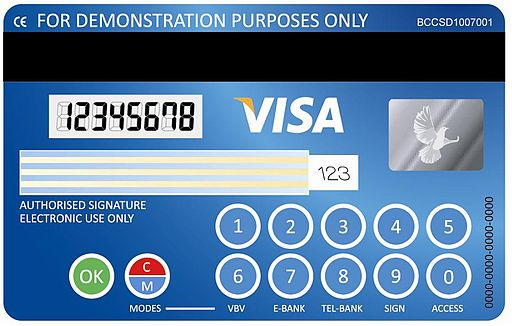 Visa codesure card