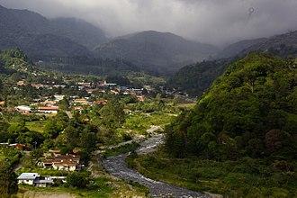 Chiriquí Province - Image: Vista Boquete