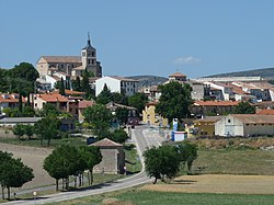 Skyline of Cogolludo, Spain
