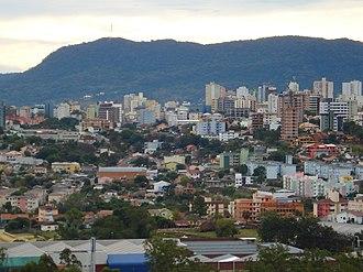 Santa Maria, Rio Grande do Sul - Image: Vista de Santa Maria (RS)