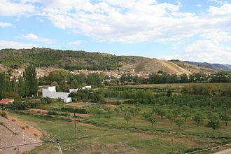 Morés - Image: Vista general, Morés, Aragón
