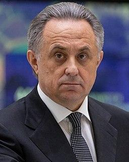 Vitaly Mutko Russian politician