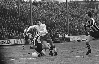 SBV Vitesse - Against AFC Ajax in the 1970 Dutch Cup match.