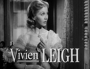 A Streetcar Named Desire (1951 film) - Vivien Leigh as Blanche DuBois in A Streetcar Named Desire.