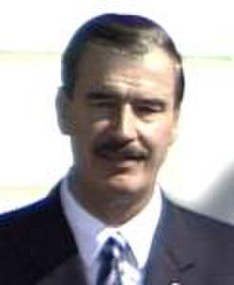 Gray Davis - Davis sought to improve relations with Mexican President Vicente Fox.
