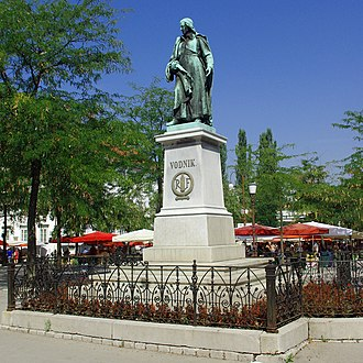 Vodnik Monument - Front side