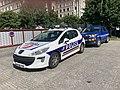 Voitures de police Rue Servient (Lyon) juin 2019.jpg