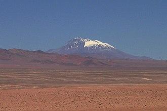 Socompa - Image: Volcán Socompa